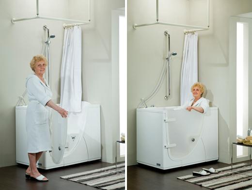 Ambienti bagno ed accessori per bagni per anziani