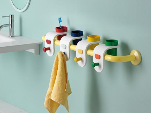 Accessori Bagno Per Bambini.La Linea Milk Ponte Giulio In Pietra Acrilica Per Il Bagno Bambini
