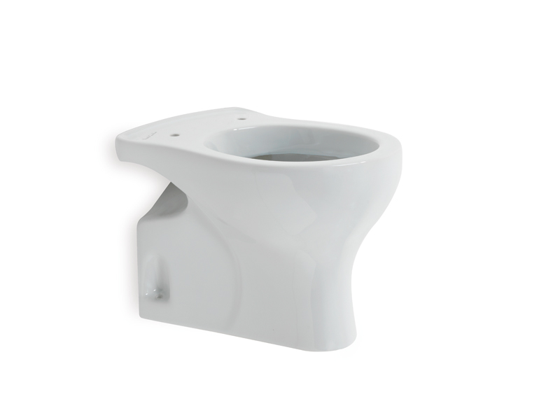 Floor standing WC-bowl for children use, Millepiedi, showcases