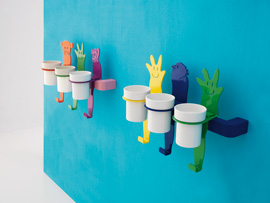 Colored And Imaginative Bathroom Accessories For Children