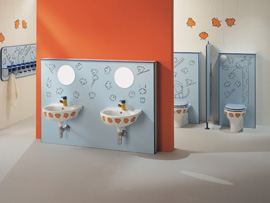 Ponte Giuliou0027s Sanitary Ware For Children Bathroom