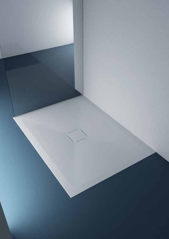 Shower tray line Materia, showcases