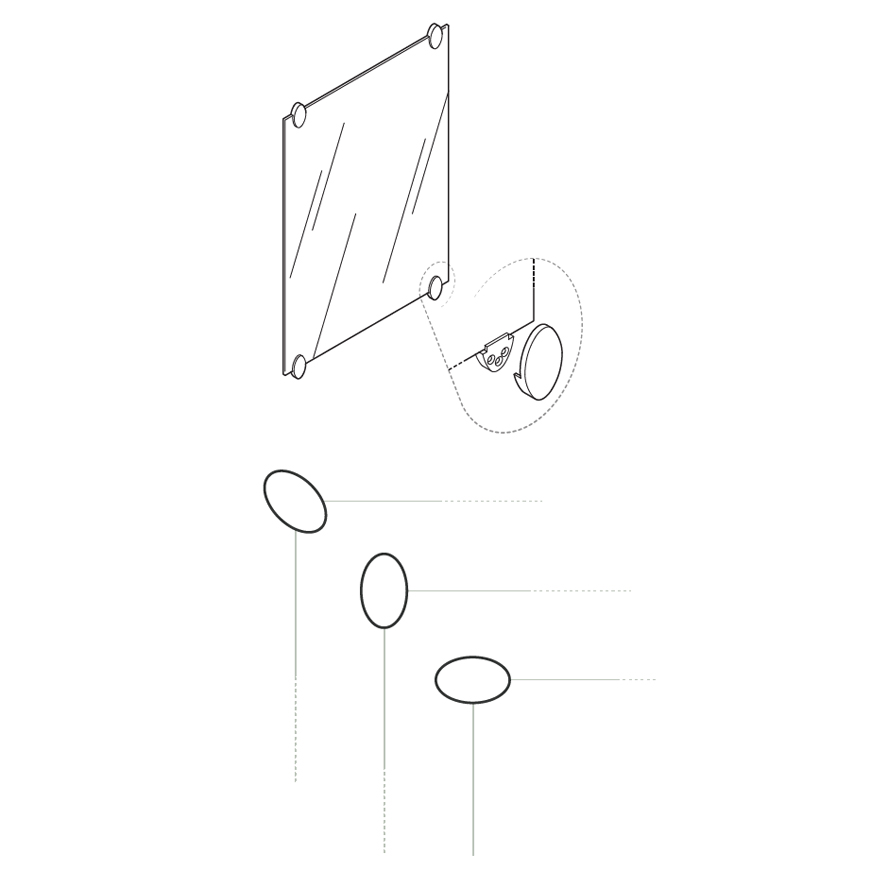 Insights: inclusive design, how to assemble mirror wall fixing kit