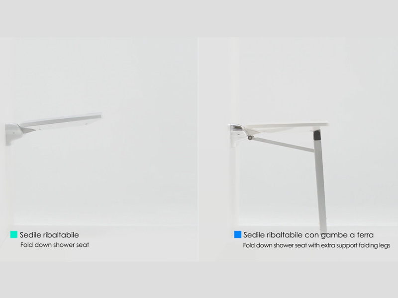 Video of the fold down shower seat