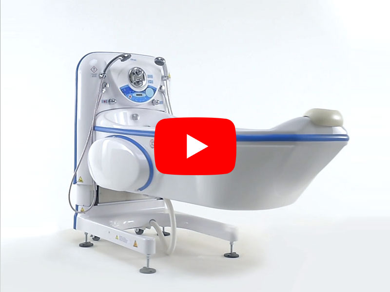 Video of the High-low bath tub