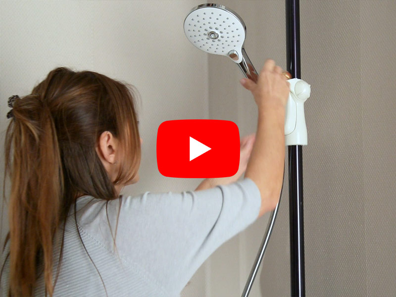 HUG Collection - Video shower environment