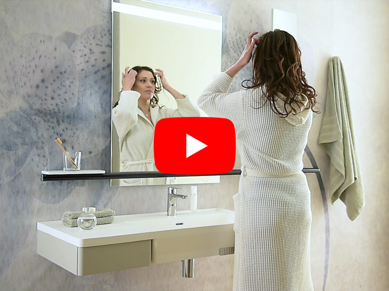 HUG Collection - Video washbasin environment