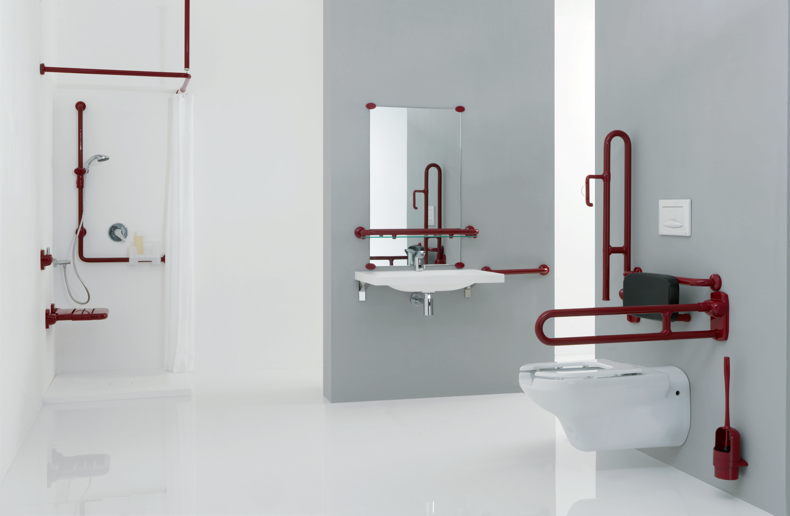 "Supporting systems of collection ""Urban People"" for the bathroom - CA001"