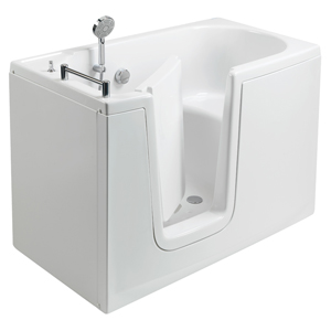 The walk-in bathtub with internal door, model 656, showcases