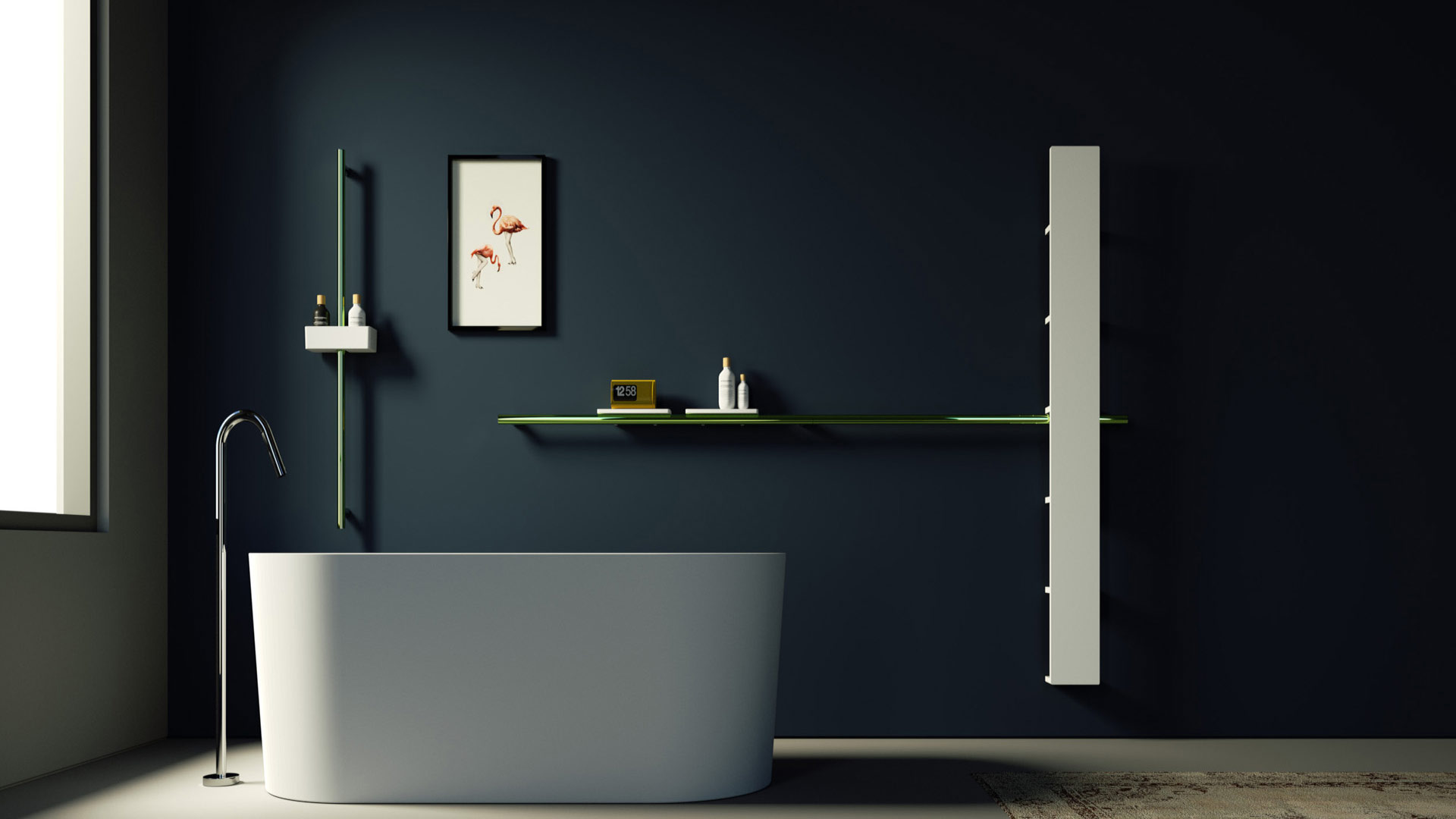 Vasca Da Bagno In Inglese Come Si Scrive : Un bagno bello e confortevole come un salotto stile