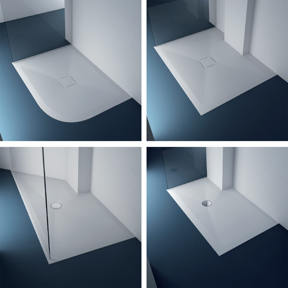 Customized, safe and made to measure shower trays