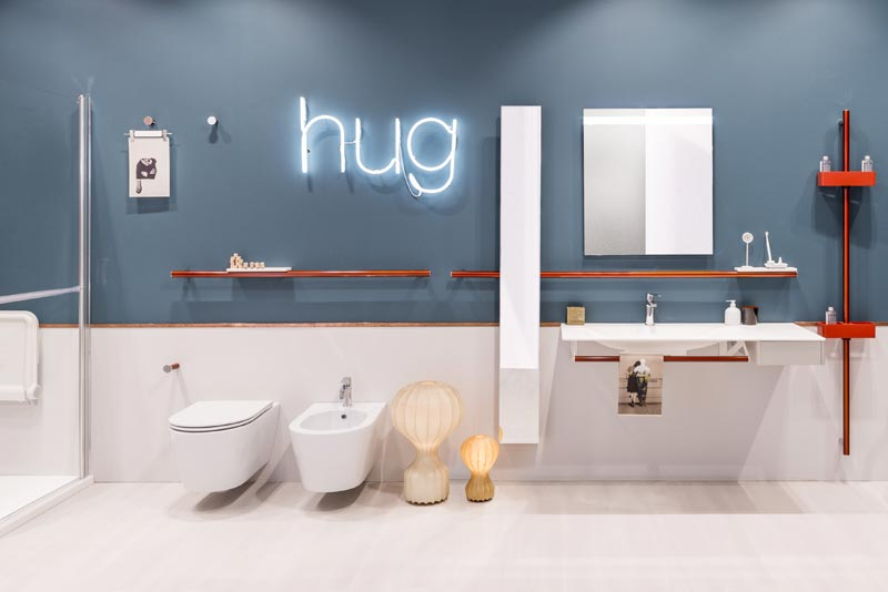 hug, the new grab bars for the bathroom Ponte Giulio