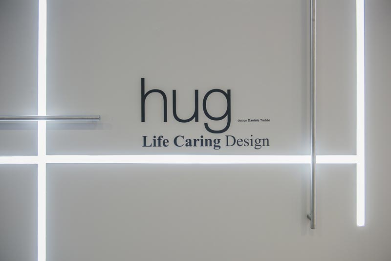 hug, the new grab rails system for the bathroom Ponte Giulio