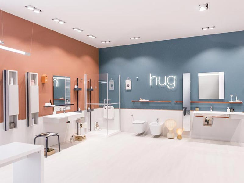 Hug, the new bathroom collection from Ponte Giulio