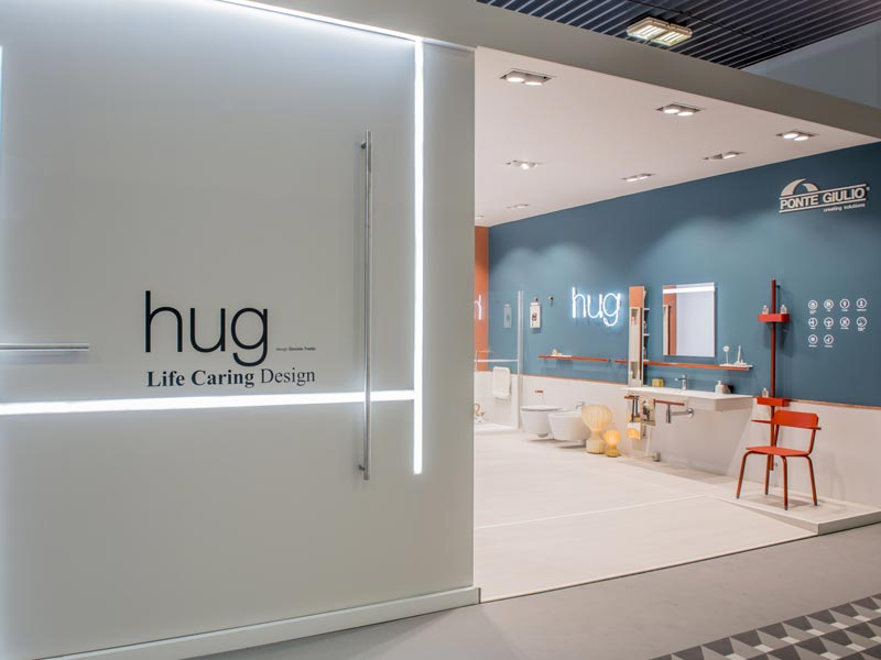 hug, versatile and modern furniture and sanitaryware
