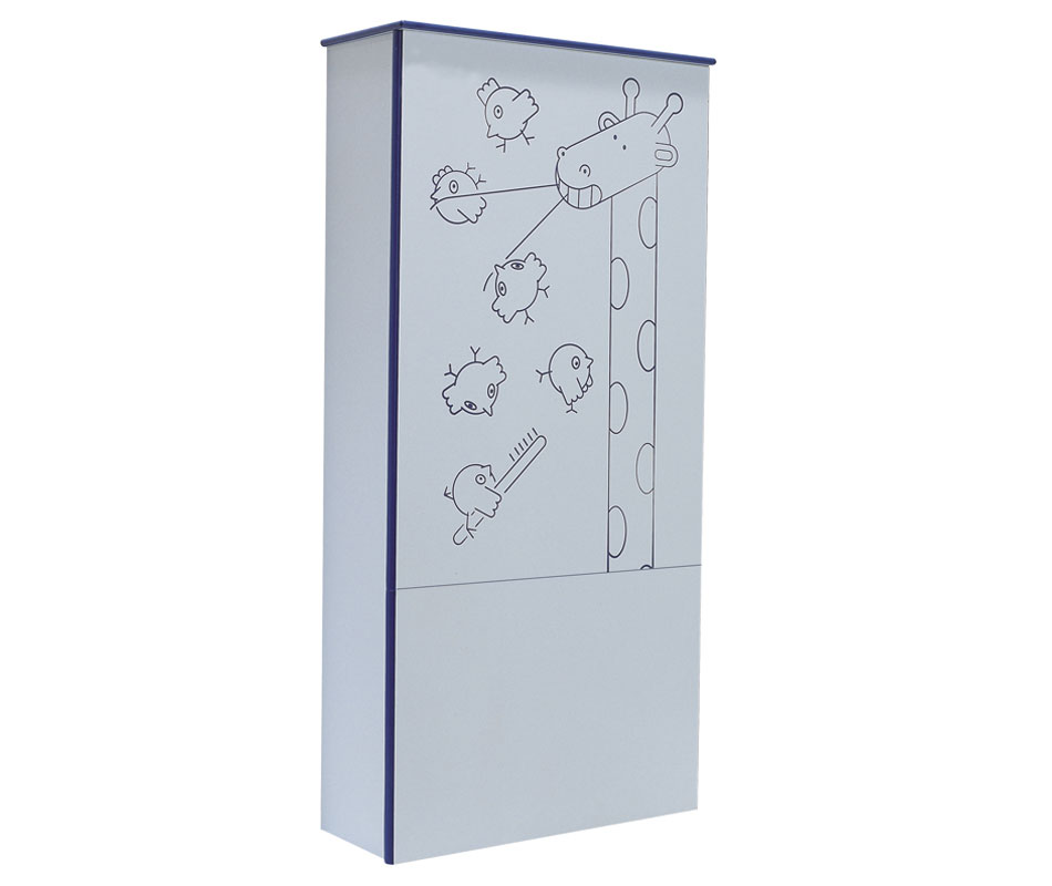 Baby bathroom sanitary module