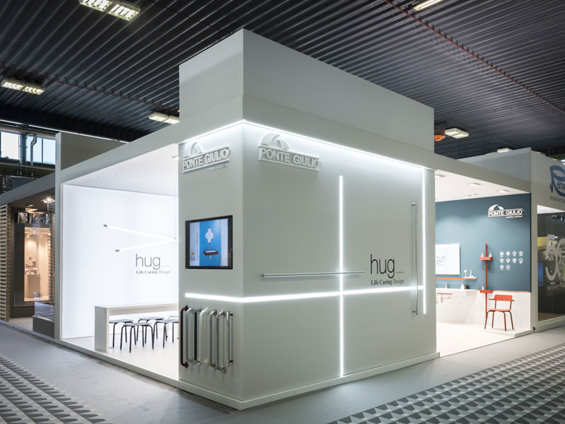 The Ponte Giulio booth at Cersaie