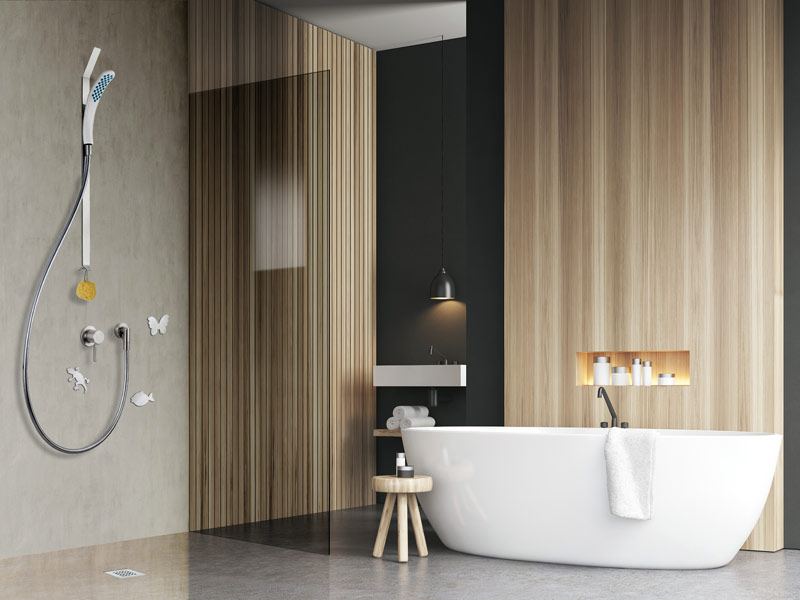 Magnetic Shower, semplice e versatile