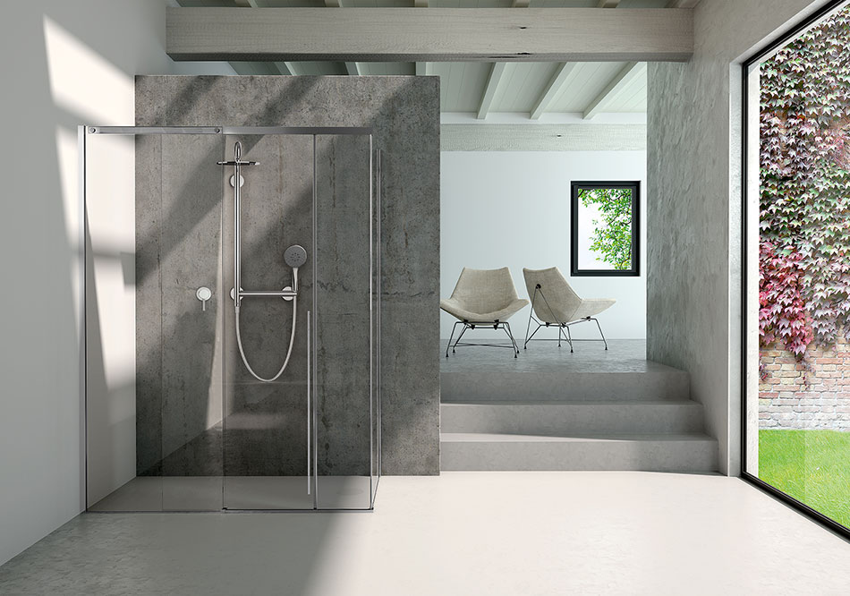 SOLO shower, new product at Cersaie 2019