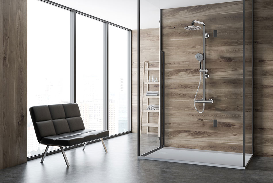 SOLO shower, new shower solution at Cersaie 2019