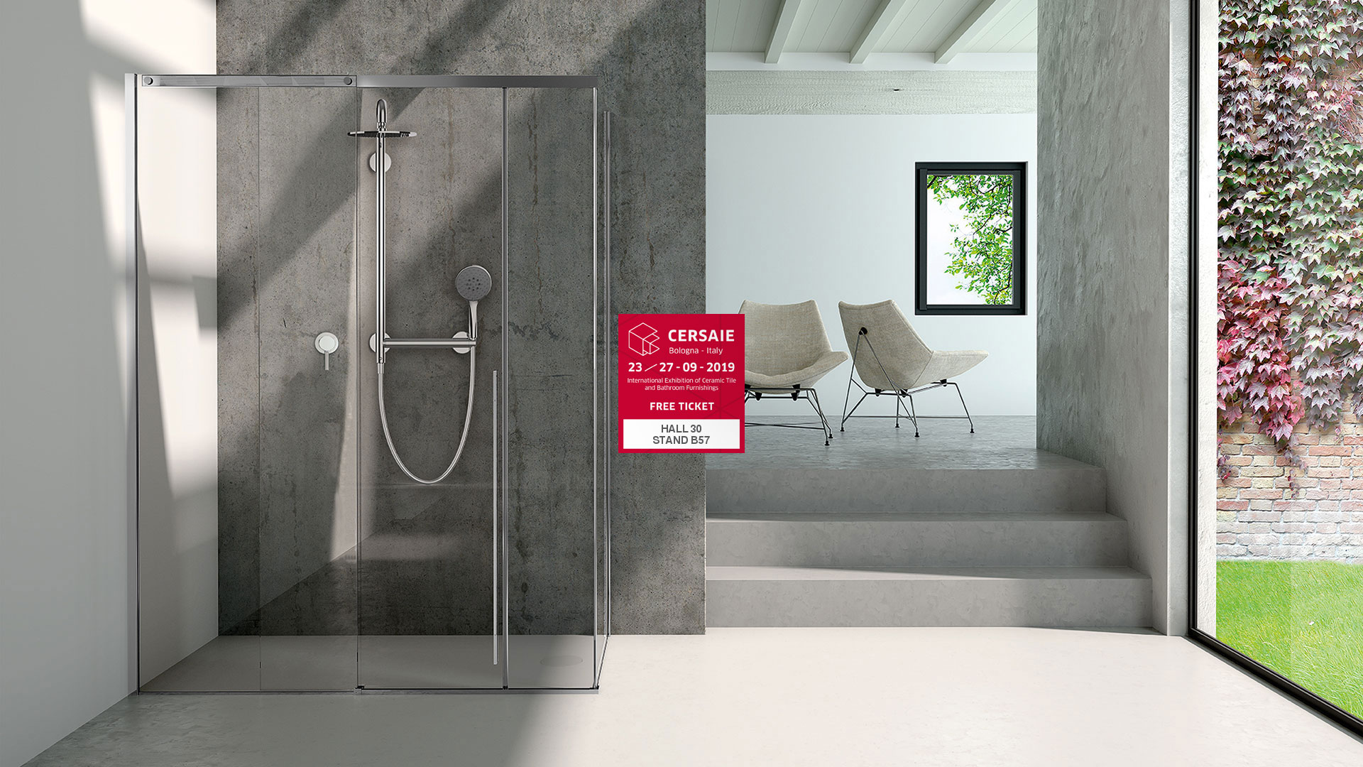 Solo Shower preview at Cersaie 2019