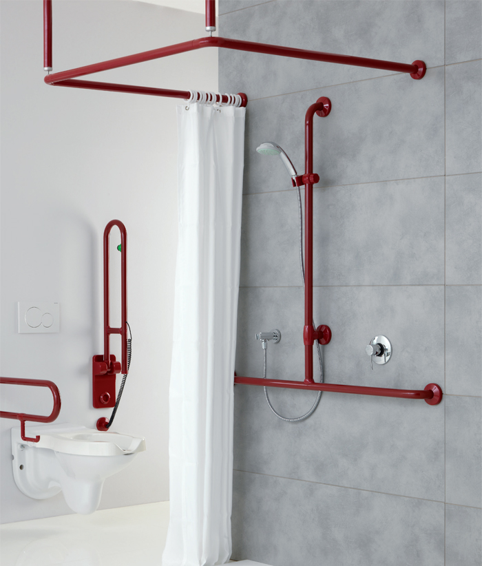 Shower system with removable seat - CA004