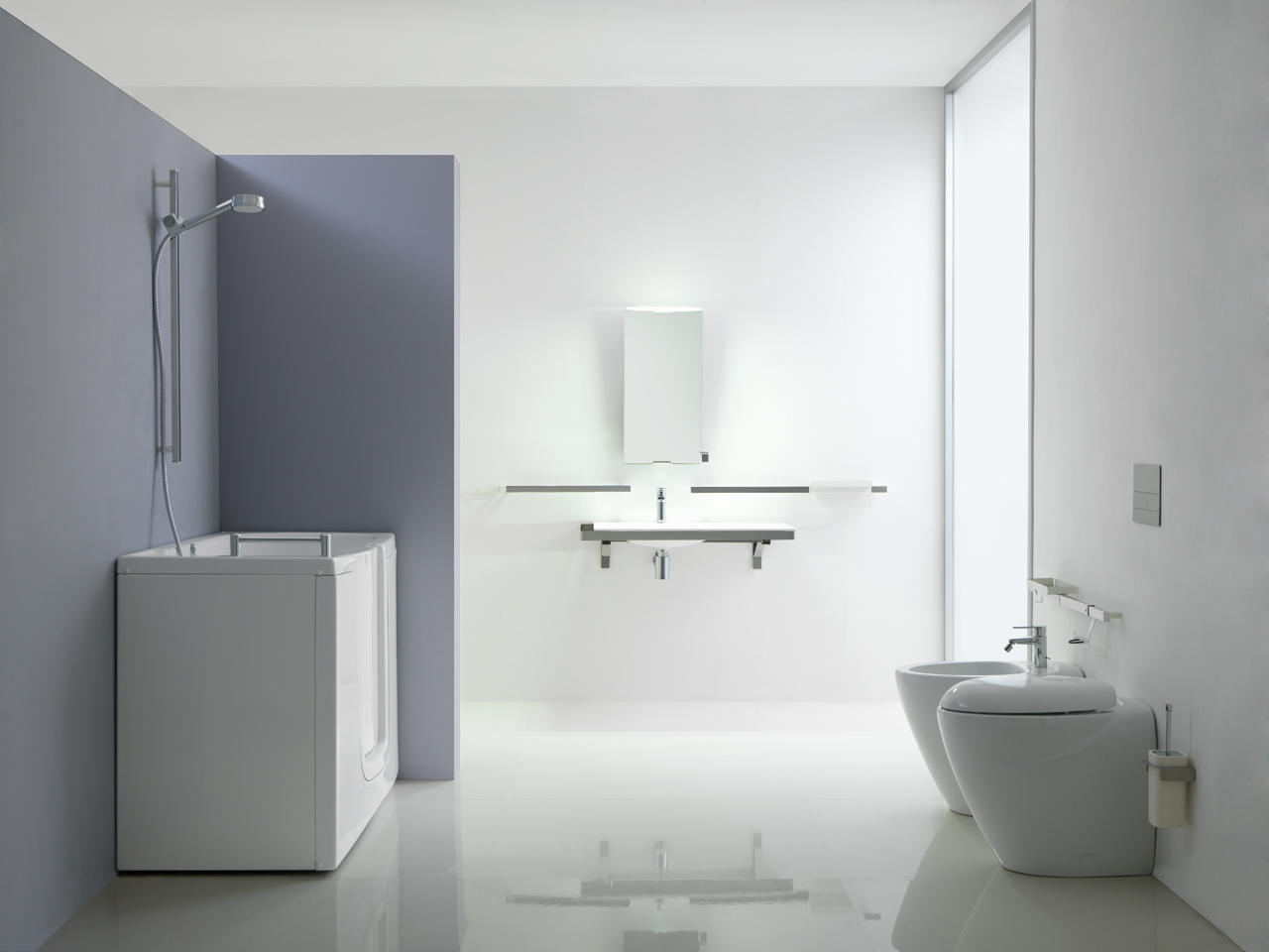 Solution for inclusive bathroom environment