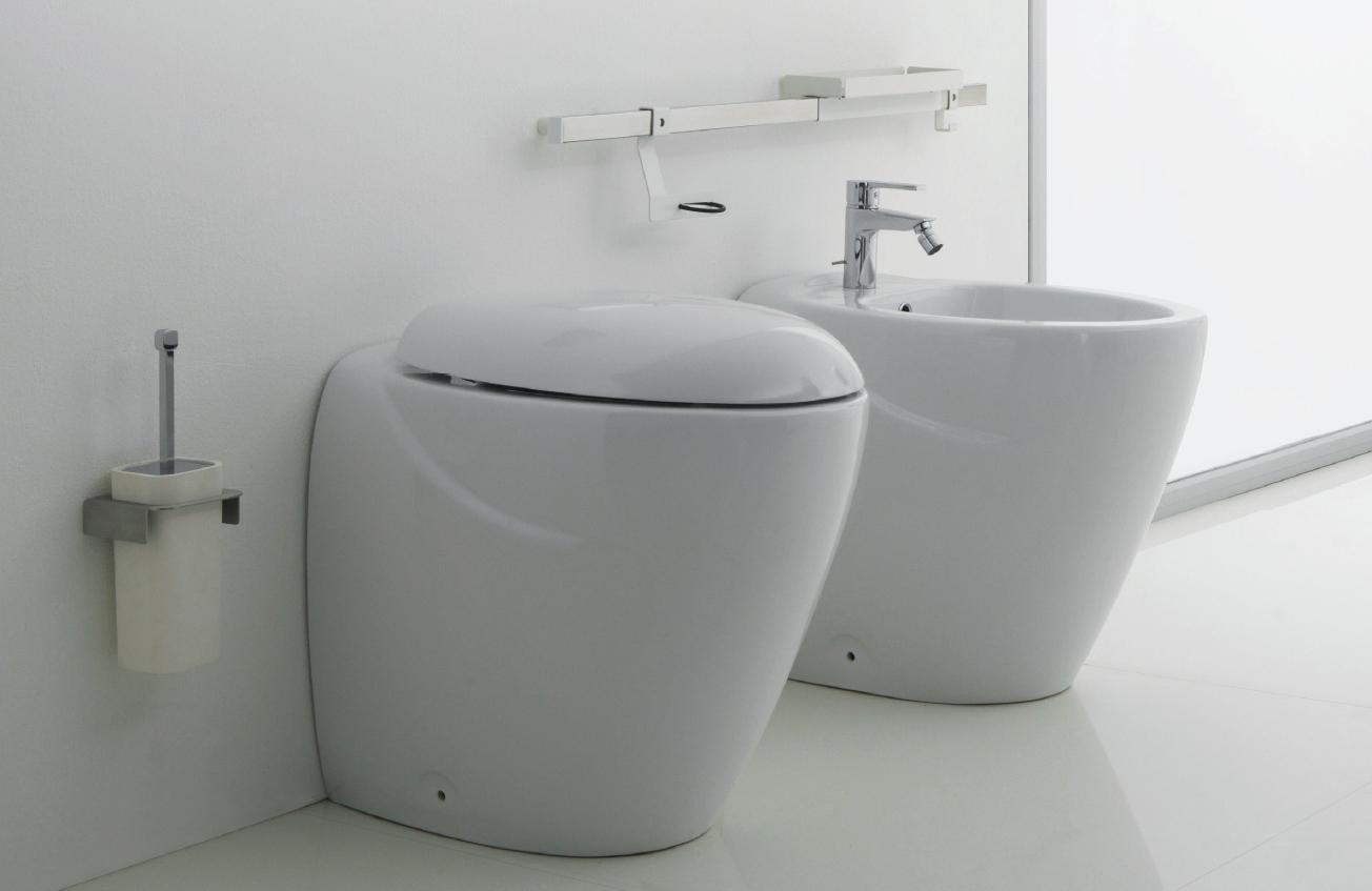 Ceramica Dolomite Zelig Prezzi.Sanitari Alti 47 Centimetri Per Una Zona Vaso Sanitario Funzionale