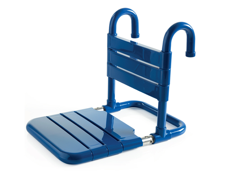 Removable and foldable seat with slats - CA008