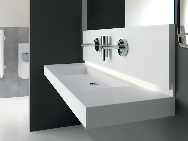 Frequently visited bathroom environments - AC001