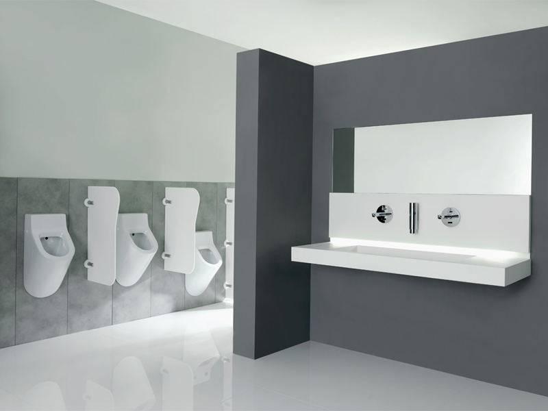 Solution for high-traffic bathroom environments
