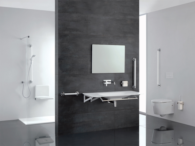 Solution for hospitality bathroom environment
