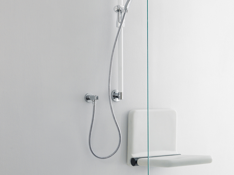 Solution for shower area with Prestigio grab bars
