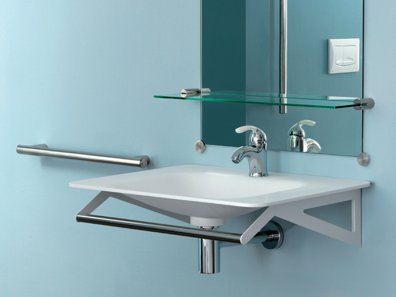 Solution for hospitality wash basin area