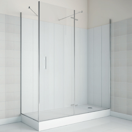 Custom-tailored shower area for hospitality - OS007