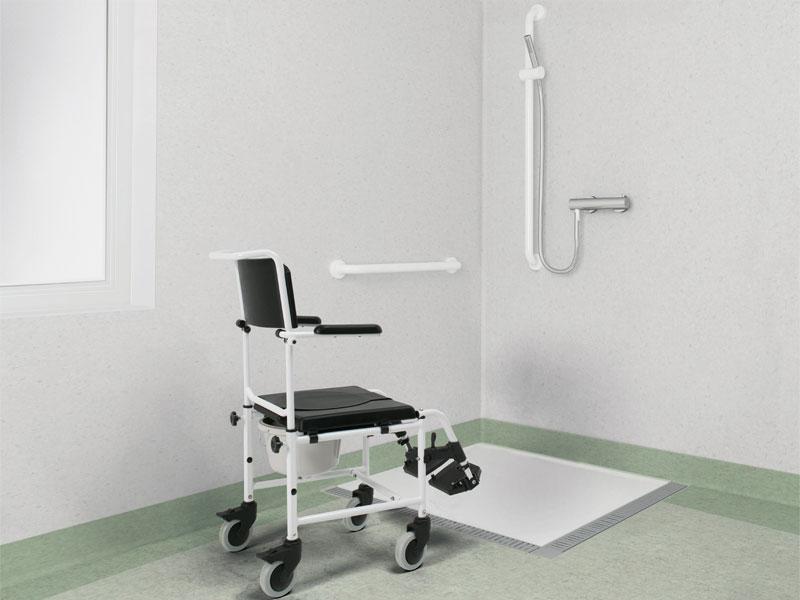 Soluzioni bagno assistito e bagno disabili destinate a ospedali