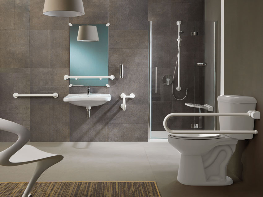 Bathroom environment with products Contractor series - OS010