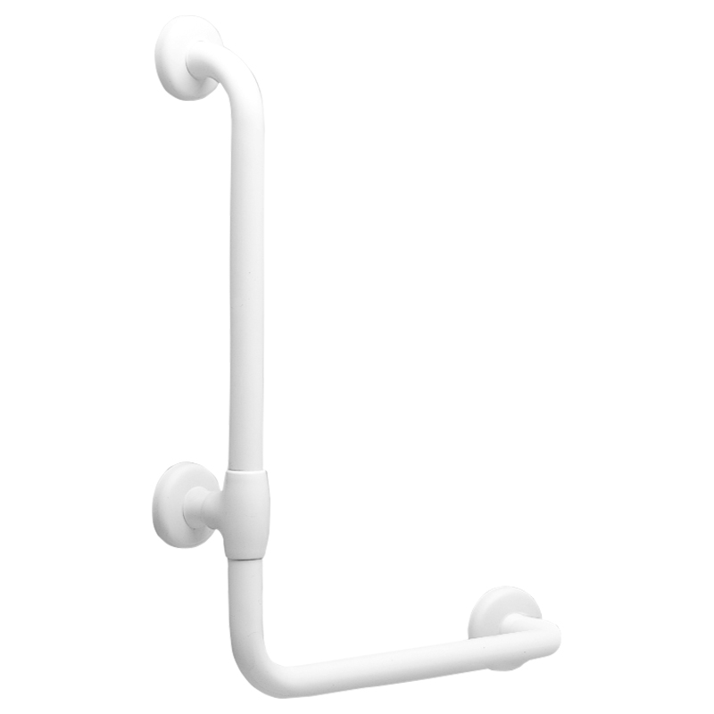 Draw L-shaped safety grab bar G02JBL19