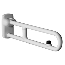 Draw Safety folding grab bar with electric button and reinforced with a joint G27JCS59