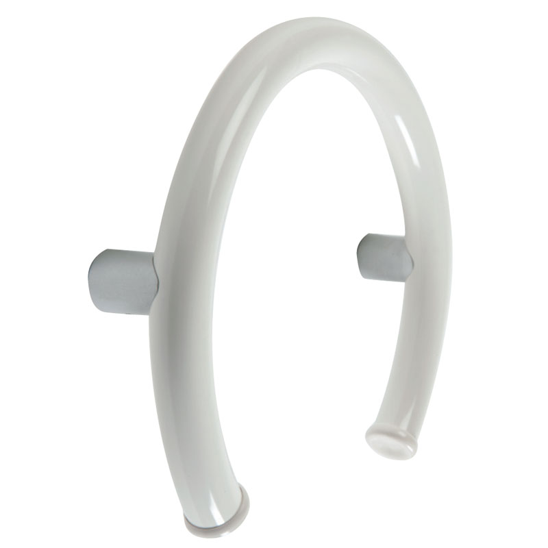 Rounded grab bar