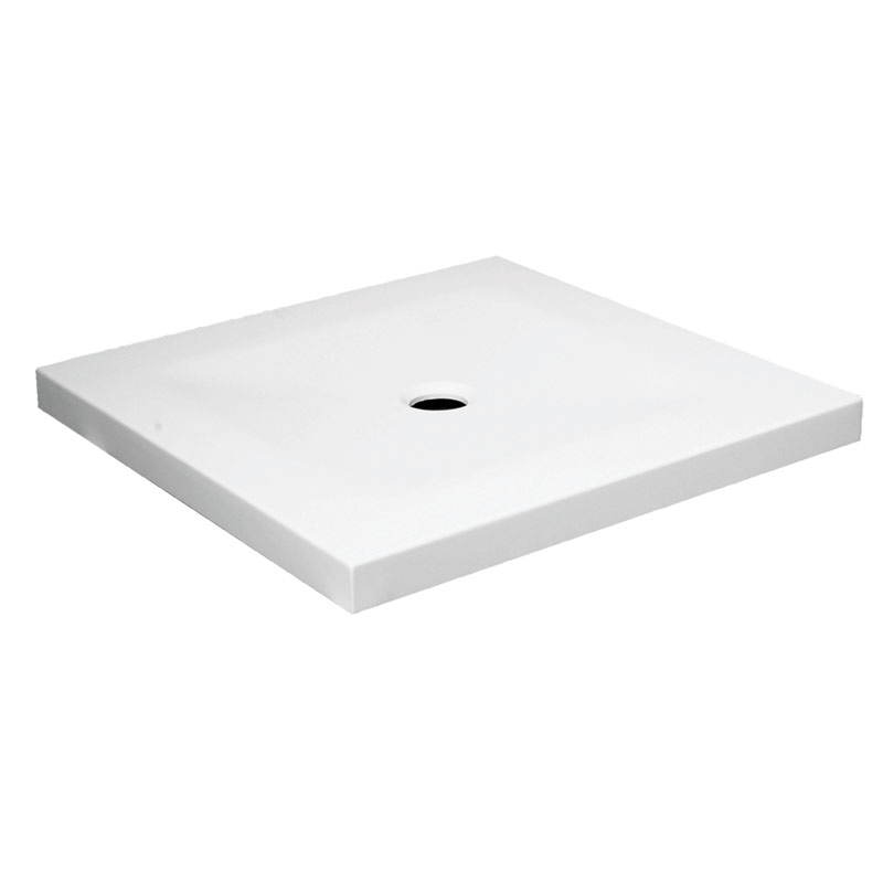 Shower tray, rectangular, acrylic stone - B46CPM95