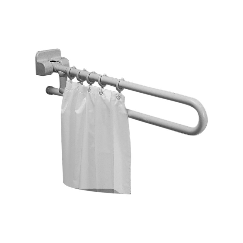 Draw Folding shower splash guard grab bar G40JCS23