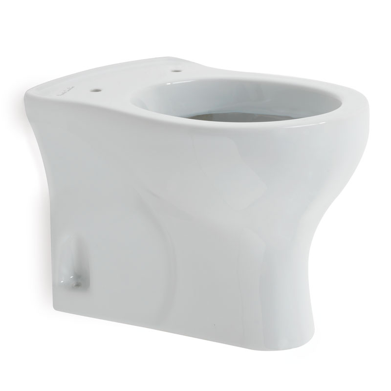 Floor standing WC-bowl for children use