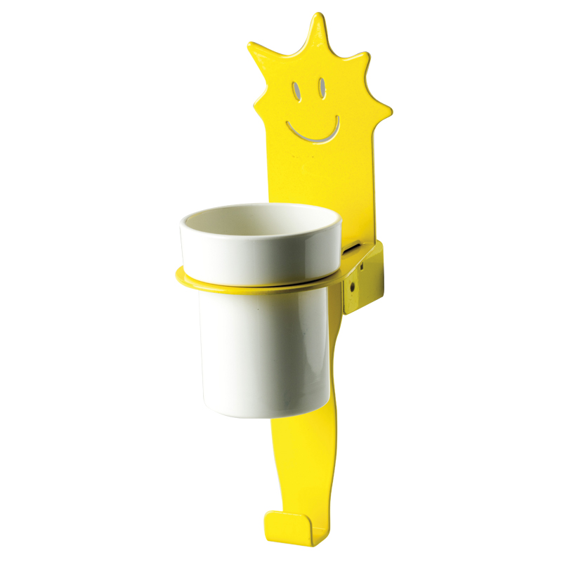 "Cup holder module towel hook, ""star"" shape"