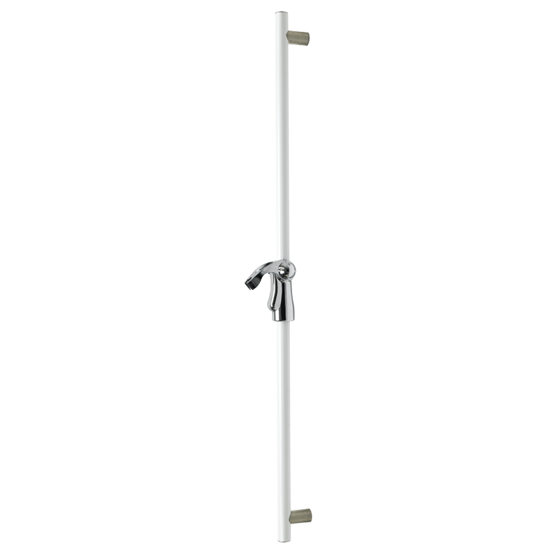 Draw Vertical fixed slider grab rail including the showerhead holder G18UOS31