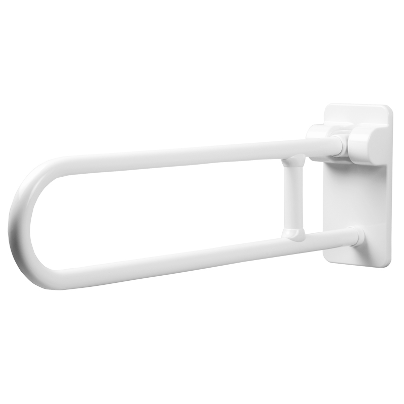 Folding and rotating grab bar
